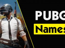 Best PUBG Names 2020 - Cool, Stylish, Funny, Room Names